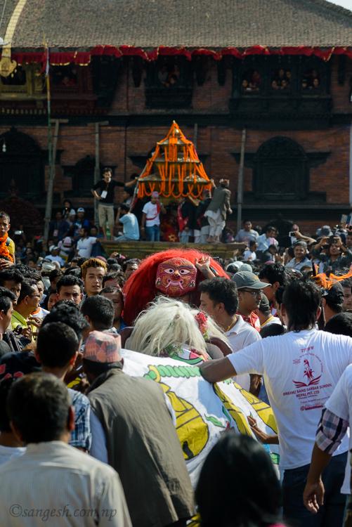 indra, jatra, nepal, festivals, kumari, hindu, lakhe, bhairav, ganesh,