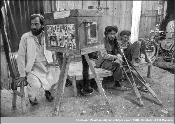 アフガニスタンの箱カメラ