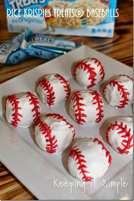 #ad Rice-Krispies-Treats®-Baseballs #GetKreative
