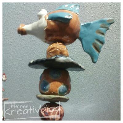 """kleiner-kreativblog: Gartenstecker """"Fisch"""""""