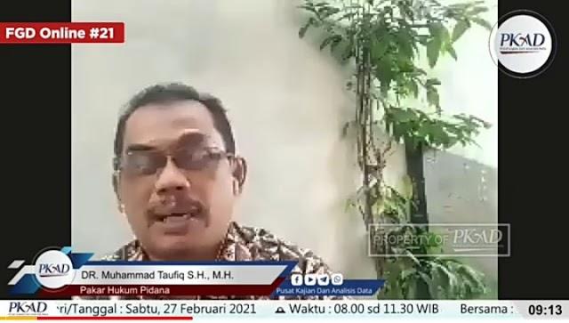 Hukum Acara tidak Lengkap, Pakar Hukum Pidana: Kasus yang Menimpa Gus Nur Layak Dibatalkan!