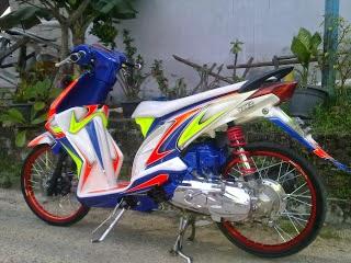 Modif Yamaha Fino 2014