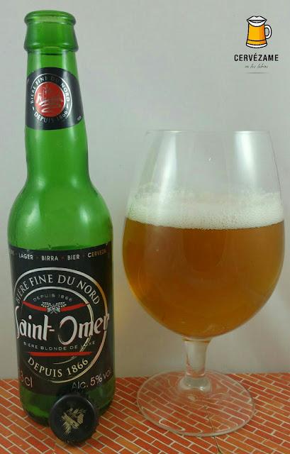 cerveza beer Saint-Omer 1866 cervezame