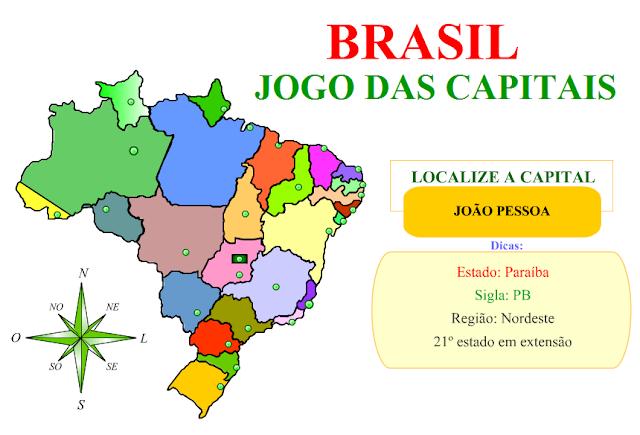 de geografia jogo de geografia brasil jogo das