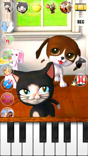Talking Cat & Background Dog