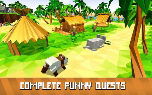 Blocky Panda Simulator - be a bamboo bear! 2.2.4 screenshots 3