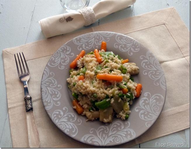 arroz con menestra espe saavedra