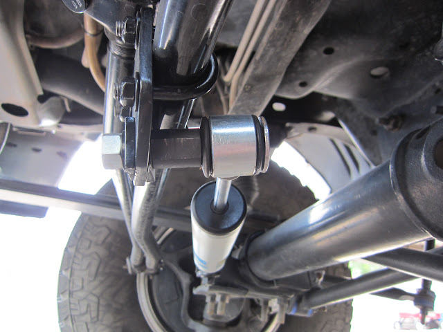 How I Installed A Sd Bilstein Steering Stabilizer Ford