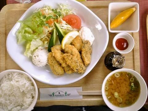 カキフライset¥900(【岐阜県羽島市】HARROZハロッズ)