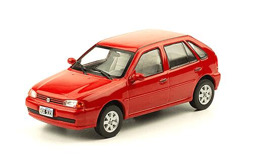 Volkswagen Gol GL 1.9 SD 1998 1:43, autos inolvidables argentinos 80 90