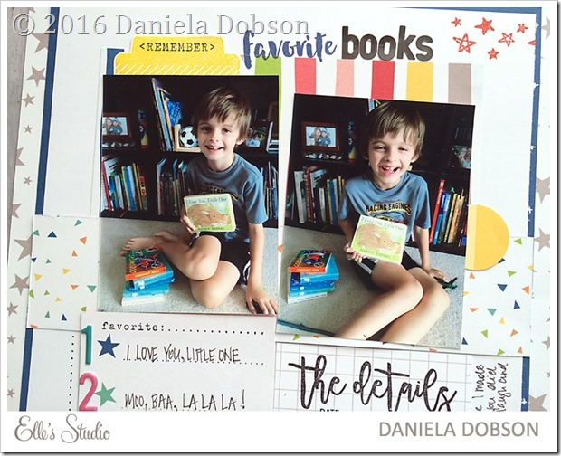 Favorite books close by Daniela Dobson