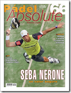 Portada Padel Absolute numero 66 con Sebastián Nerone