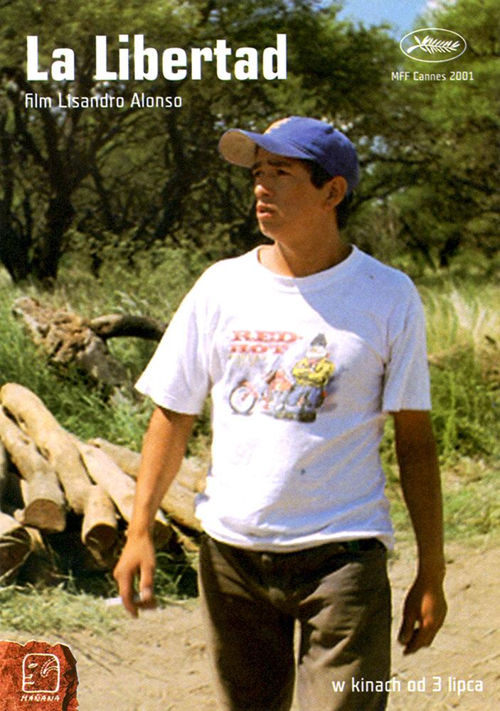 Ulotka filmu 'La Libertad (przód)'