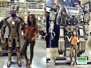 Amy jackson hot in enthiran 2