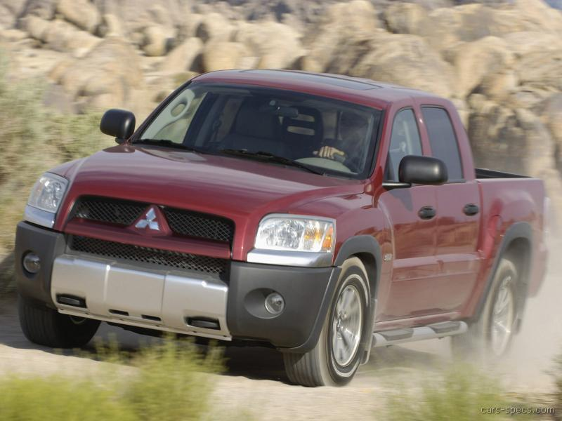 2007 Mitsubishi Raider Extended Cab Specifications Pictures Prices