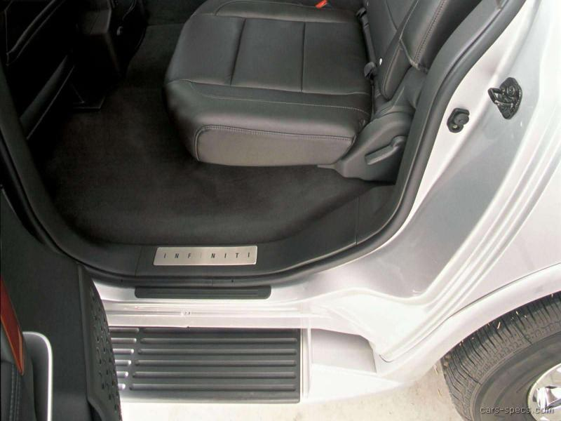 2006 Infiniti Qx56 Suv Specifications Pictures Prices
