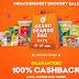 Grofers Grand Orange Bag Days – Get 100% Cashback on Grocery Purchase (Cashback upto Rs.5000)