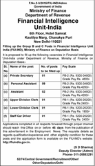 FIU India Recruitment 2017 indgovtjobs