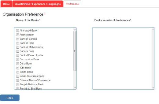 ibps-po-preferences