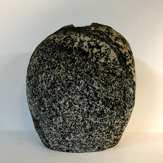 Granite Signed Vase