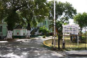 Entrance to the Legislature of the US Virgin Islands