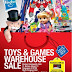 17 - 18 March 2016 Toy & Games warehouse sale