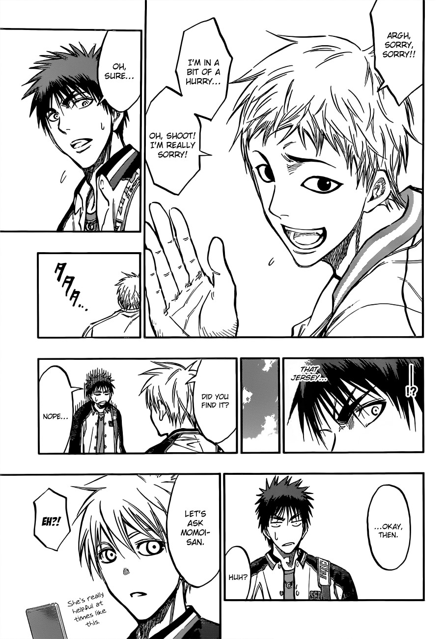 Kuroko no Basket Manga Chapter 174 - Image 07
