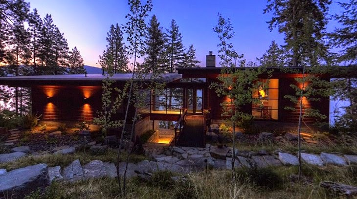 House in Idaho, USA