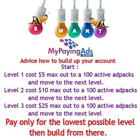My Paying Ads Membership