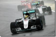 Lewis Hamilton vince il gran premio del Brasile 2016