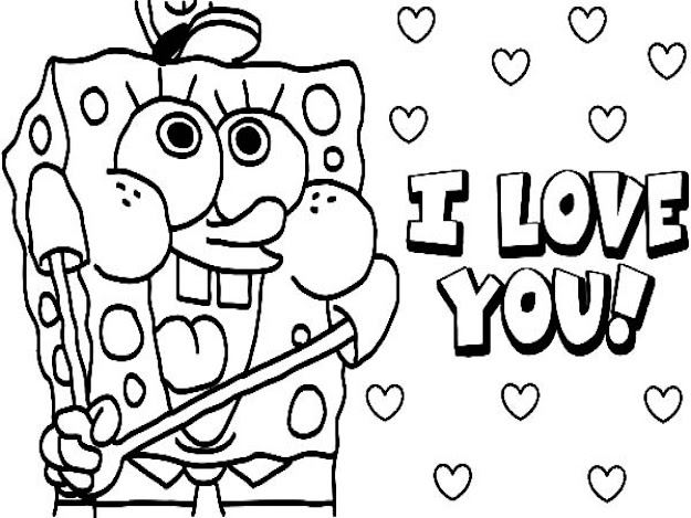 Love You Boyfriend Coloring Pages