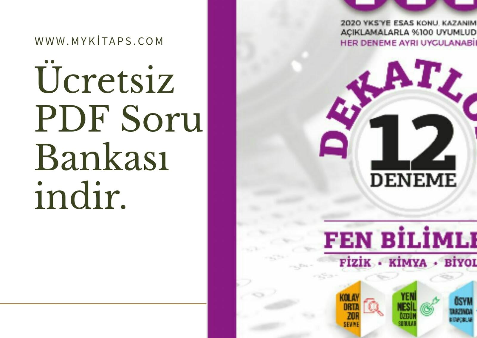 Ankara Yayıncılık TYT Dekatlon Fen Bilimleri 12 Deneme Sınavı 2020.zip