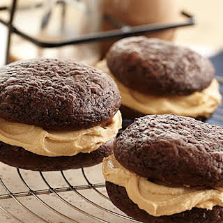 Chocolate Peanut Butter Whoopie Pies.