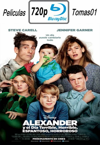 Alexander y el día terrible, horrible, malo… ¡muy malo! (2014) (BDRip) BRRip 720p