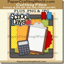 school days layout ppr cfb 450