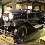 pre-war car at the edo-tokyo museum in Japan in Tokyo, Tokyo, Japan