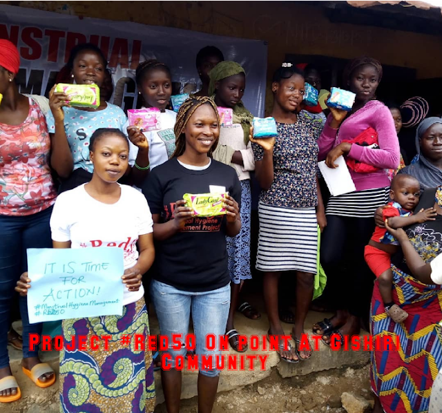 2000 women benefit as NGO launches menstrual health project in ABUJA