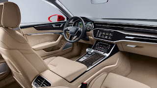 2019 Audi A6 launched with insane tech! interior
