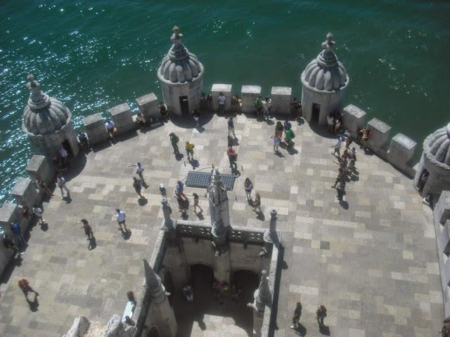 Vistas desde la terraza de Belem