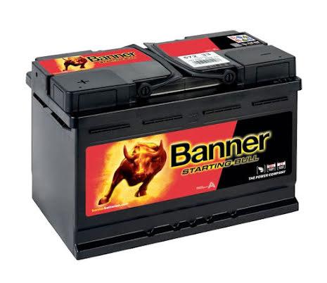 Banner Fritidsbatteri 12 Volt 75 Ah---