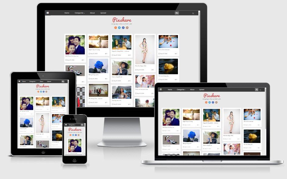 Website ngắm ảnh gái xinh