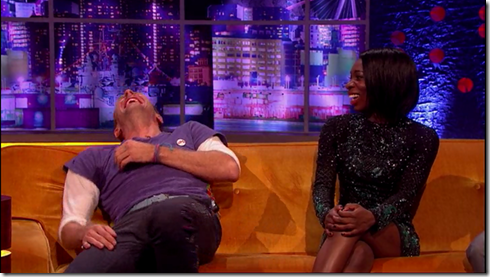 The Jonathan Ross show Coldplay Simon Pegg29