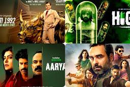 Top 10 Web Series 2020 :  Mirzapur-2, Scam 1992, Aarya, Abhay-2, Special Ops, Panchayat - Top Rating IMDB web Series