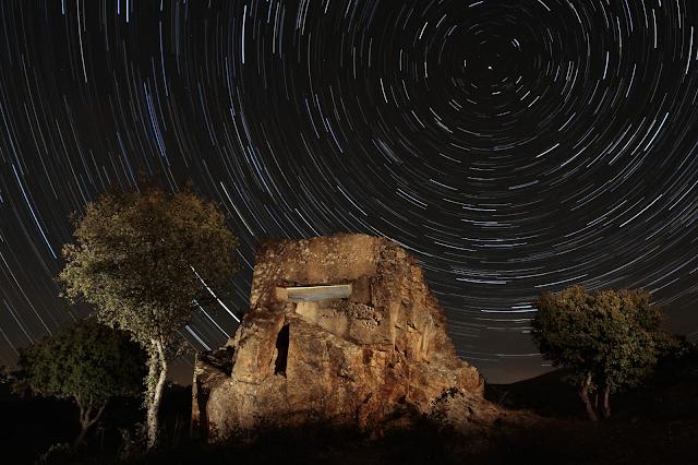 Startrail, foto de David López