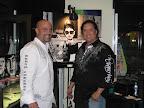 Scott Melton and artist Richard Nunez.