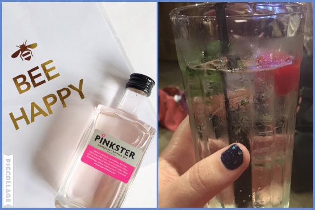 pinksters gin and my first gin and tonic!