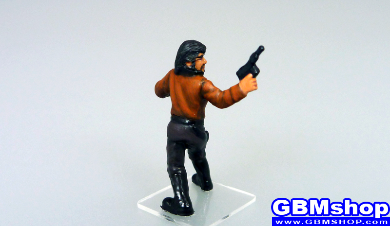star wars miniature Imperial Assault Talon Karrde Corellian Security Officer #30 Legacy of the Force Star Wars Miniatures custom Customize and Painting Thrawn campaign crisis Trilogy
