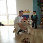 Pieski II wizyta w naszym przedszkolu