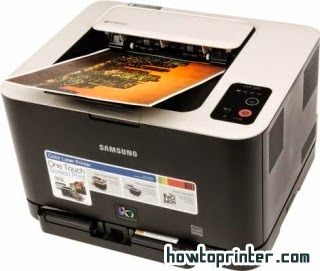Solution resetup Samsung clp 325 printer counters – red led blinking