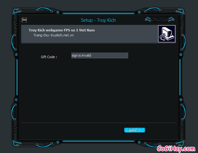 nhập mã gift code game truy kích